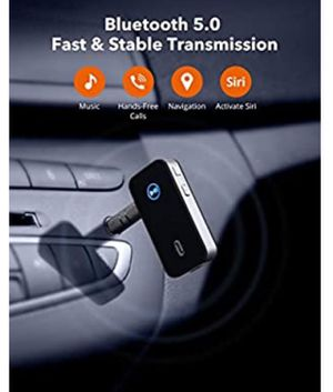 Bluetooth Receiver/Car Kit, Portable Wireless Audio for Sale in Fresno, CA