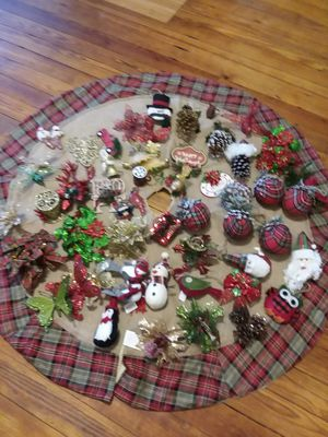 Christmas ornaments for Sale in Olmsted, IL