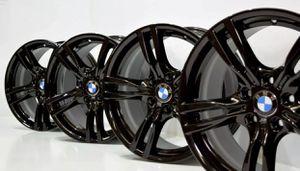 """18"""" Bmw 340i 440i 335i 435i 400 M Sport black wheels for Sale in Huntington Beach, CA"""