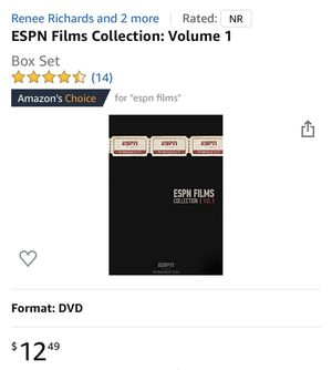 ESPN Film Collection Vol. 1 for Sale in Bakersfield, CA