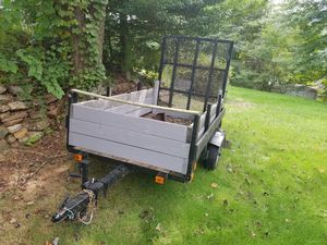 4x8 trailer with easy loading ramp for Sale in Freeport, PA