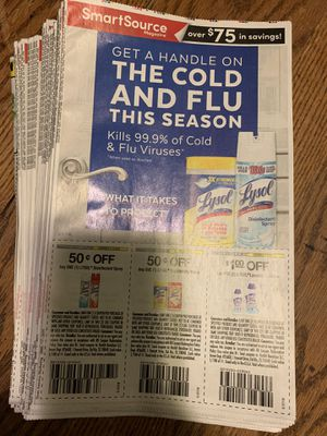 10/13 Smart Source Coupon Insert Bundle for Sale in Stockton, CA