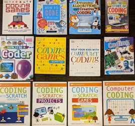 Kids Books- Extreme Beginner Coding Book Set for Sale in Vancouver,  WA