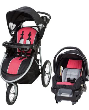 Baby Trend Pathway 35 Jogger Travel System, Optic Pink for Sale in Las Vegas, NV