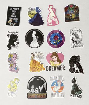 Disney Princess Belle Hydroflask stickers any 6 for $5 for Sale in Phoenix, AZ