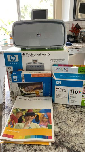 HP Photosmart A616 compact photo Printer for Sale in Temecula, CA