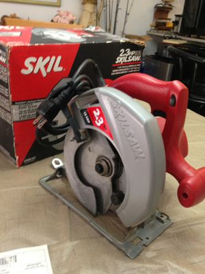 "Skilsaw 5400 12A 2.3Hp 4600 rpm 7-1/4"" Circular Saw (like new) no refund no return for Sale in Pembroke Pines, FL"