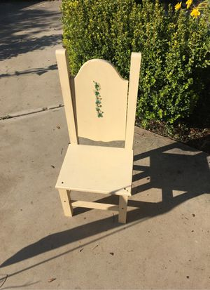 Decorative wooden chair for Sale in Sanger, CA