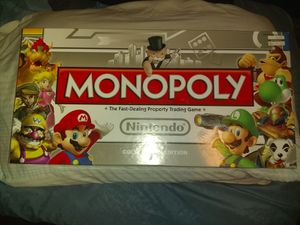 Collector's edition Nintendo Monopoly for Sale in Glendale, AZ
