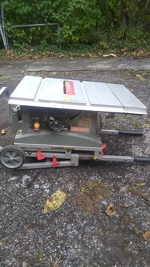 Craftmans Table saw for Sale in Cleveland, OH