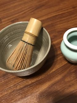 Tea Set, Matcha Wisk And Tea Bowl for Sale in Laguna Niguel,  CA