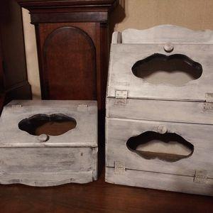 Bread Box + Potato Box for Sale in Ball, LA