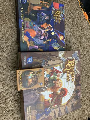 Bargain Quest plus expansions board game for Sale in Buena Park, CA