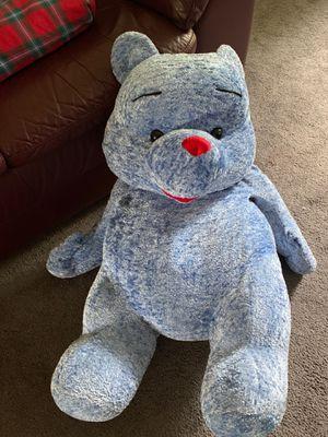Big blue teddy bear 3feet tall for Sale in Lilburn, GA