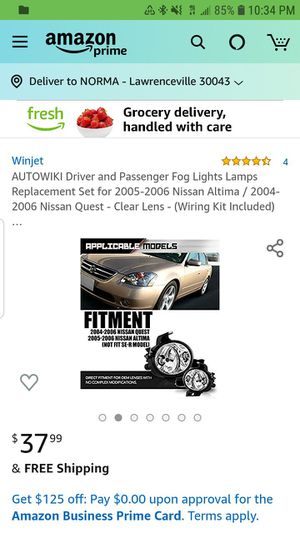 lights for Nissan Altima and Nissan Quest for Sale in Lawrenceville, GA