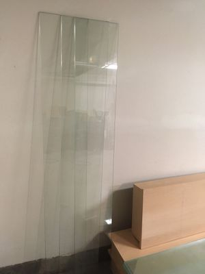 3 Glass shelves for display for Sale in Corona, CA