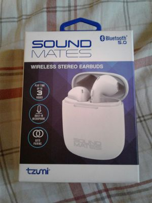 New Sound Mates Wireless Stereo Earbuds for Sale in San Antonio, TX