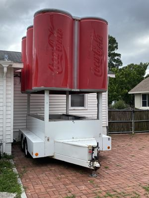 Original Coca- Cola Trailer Motorised One of Kind 11k$ for Sale in St. Petersburg, FL
