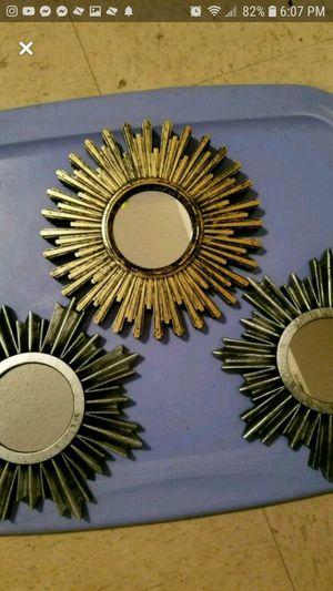 3 mini mirrors for Sale in Alexandria, LA