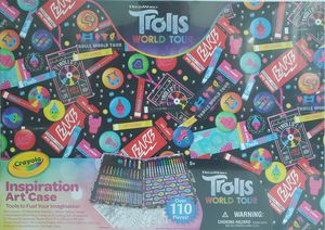 Trolls inspiration art kit case for Sale in Sunrise, FL