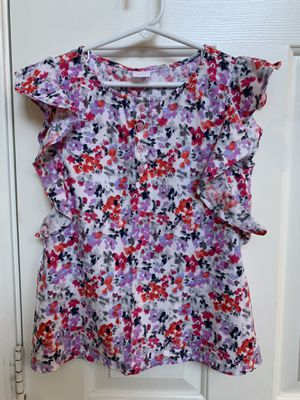 Girls blouse, top, flowers, Gymboree, size 7 for Sale in Glendale, AZ