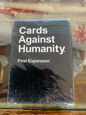 Cards against humanity first expansion for Sale in Saint Paul, MN