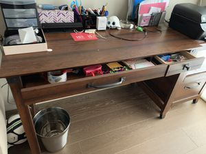 Set of writing desk table and small desk for Sale in San Francisco, CA