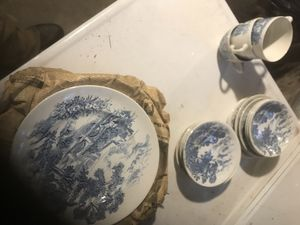 Set of Wedgwood plates, bowls and cups for Sale in Cleveland, OH
