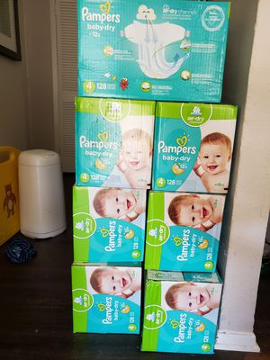 Pampers, Huggies, and Pull Ups for Sale in Carrollton, TX