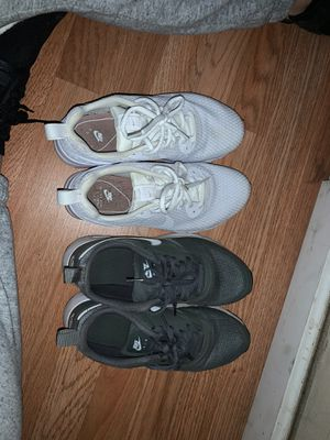Nike shoes good condition white one are size 71/2 green are size 61/2 $40 each for Sale in Bakersfield, CA
