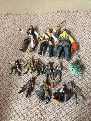 Pirates of the Caribbean action figures for Sale in Johnstown, OH