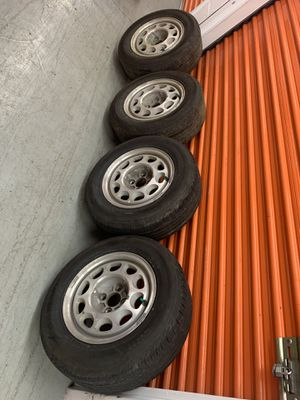 4 LUG Rims and Tires for Sale in Cranford, NJ
