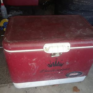 Classic Budwieser Coleman Cooler for Sale in Deltona, FL