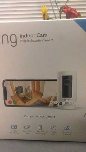 Ring Indoor Cam for Sale in Salt Lake City, UT