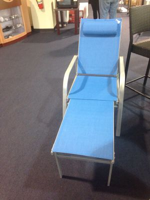 New blue pool chair for Sale in Duluth, GA