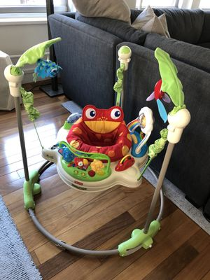 Fisher Price Rainforest Jumperoo Bouncer for Sale in New York, NY