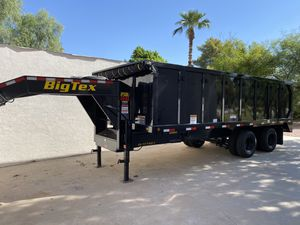 2019 Big Tex 25DU 20' Tandem Dually Dump Trailer 17300lb of cargo for Sale in Scottsdale, AZ