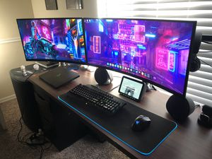 "34"" Curved Ultrawide Viotek 120hz monitor for Sale in Orlando, FL"