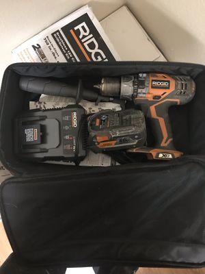 Ridgid brushless 18volt hammer drill kit for Sale in St. Petersburg, FL