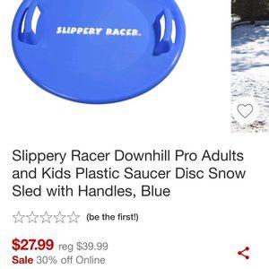 2 Slipper RACER Plastic Saucer for Sale in Skokie, IL