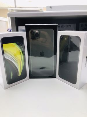 Iphone se , iphone 7 , iphone pro max for Sale in Dallas, TX