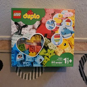 New Lego Duplo Heart Box Set ($20 Value) for Sale in Modesto, CA