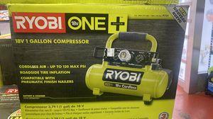 Ryobi 18Volt (Like New) 1 Gallon Air Compressor (no battery) $110 for Sale in La Habra Heights, CA