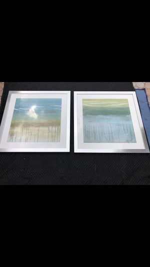 Z Gallerie Decor/ Painting set of 2 for Sale in Pembroke Pines, FL