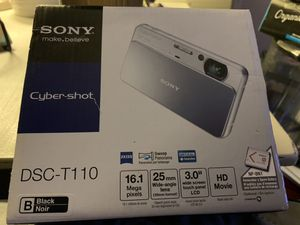 Sony Cyber Shot DSC-T110 for Sale in San Diego, CA