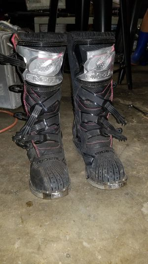 Oneal Rider motercross boots for Sale in Seattle, WA