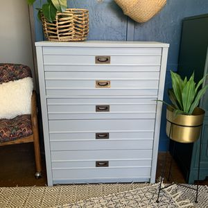 Sleek dove gray dresser for Sale in Vista, CA