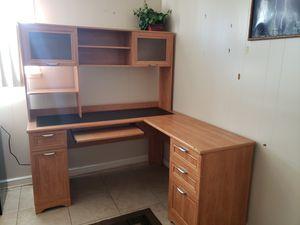 Desk & Hutch L Shaped Desk Magellan Collection for Sale in Denver, CO