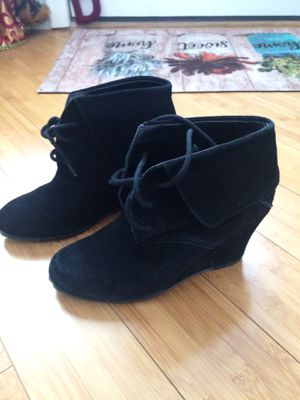 Cute Nine West black booties - Like New! for Sale in Merrick, NY