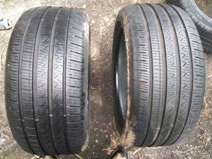 245/40/R18 two matching Pirelli tires for Sale in Richmond, VA